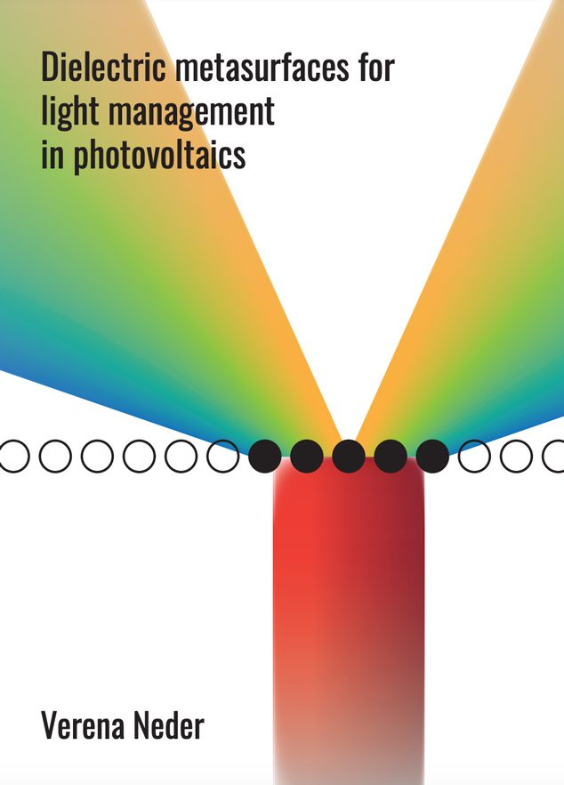 Dielectric metasurfaces for light management in photovoltaics